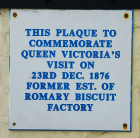 Romary House Plaque